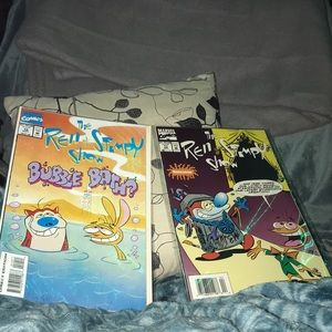 Marvel comics the Ren & Stimpy show 10 and 17
